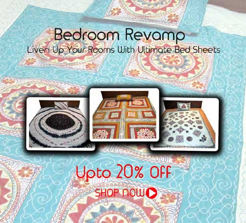 BEDSHEET STARTING AT RS. 650